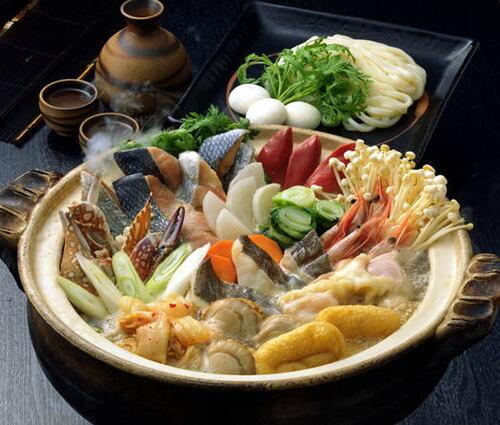 鍋の季節の調味料